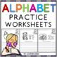 Alphabet Worksheets and Activities Bundle