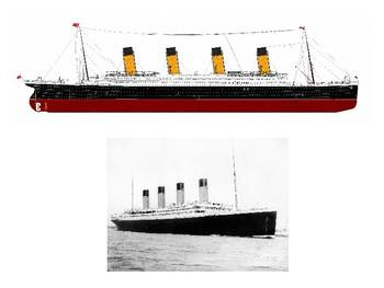 Alphabet Analyser - Lesson Starter RMS Titanic