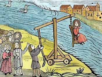 Alphabet Analyser - Medieval Crime and Punishment Starter - The Ducking Stool