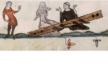 Alphabet Analyser - Medieval Crime and Punishment Starter - The Stocks