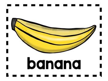 Alphabet Anchor Chart Pieces - Letter B - Color