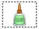 Alphabet Anchor Chart Pieces - Letter G - Color