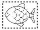 Alphabet Anchor Chart Pieces - Letter F - Blackline