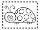 Alphabet Anchor Chart Pieces - Letter L - Blackline