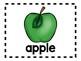 Alphabet Anchor Chart Pieces - Letter A - Color