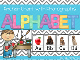 Alphabet Anchor Chart With Photographs