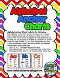 Alphabet Anchor Charts {Letter Printables}