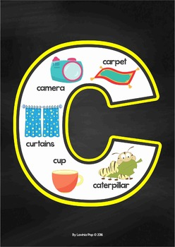Alphabet Anchor Charts - Lower Case Letters