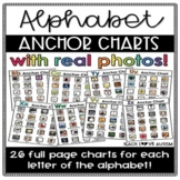 Alphabet Anchor Charts with Real Photos