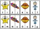 Alphabet And Number Matching Puzzles Space Theme