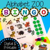 Alphabet Animal Bingo | Digital and Printable