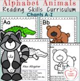 Alphabet Chants/ Alphabet Activities