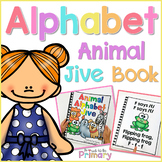 Alphabet Animal Jive Song Book  | Distance Learning