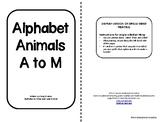 Alphabet Animals A-M-single-sided