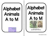 Alphabet Animals A-M-two-sided