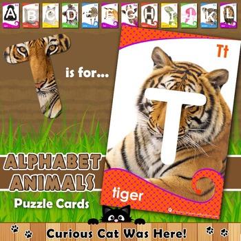 Alphabet Animals: Alphabet Puzzles