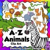 Alphabet Animals Clip Art - Animals from A - Z