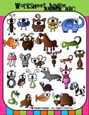 Alphabet Animals Clipart