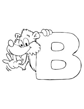 Alphabet Animals Coloring Book 27 pages