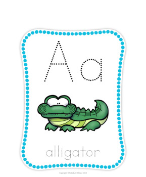 Alphabet Animals - Full Page and Mini Cards