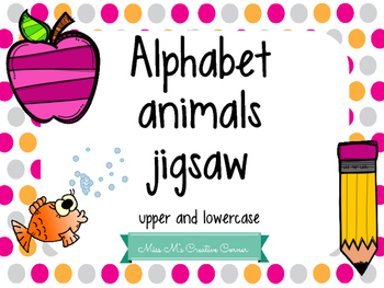 Alphabet Animals Jigsaw