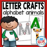 Alphabet Animals Letter Crafts