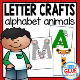 Alphabet Letter Crafts: Animals