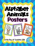 Alphabet Animals Posters Back to School