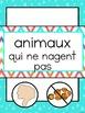 Alphabet Animaux French Literacy Centers Activités en français