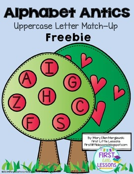 Alphabet Antics Uppercase Letter FREEBIE