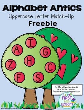 Alphabet Antics Uppercase Letter FREEBIE