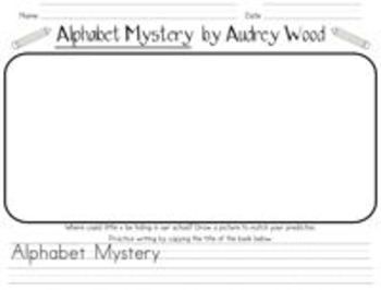 Alphabet Antics and Math Mischief {activities to go with books by Audrey Wood}
