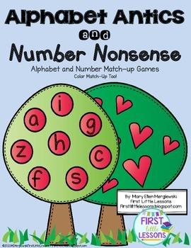 Alphabet Antics and Number Nonsense: Match-Up Games