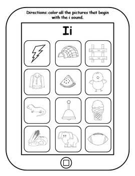 Alphabet App Sounds Printables