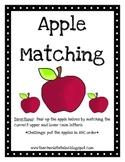 Alphabet Apple Matching