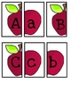 Alphabet Apple Matching
