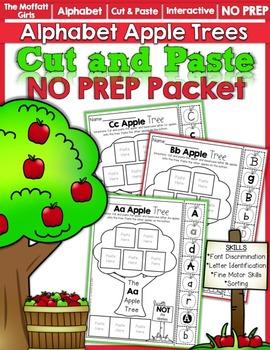 Alphabet Apple Tree Letter Sort NO PREP Packet
