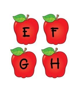 Apples Alphabet Aa-Zz