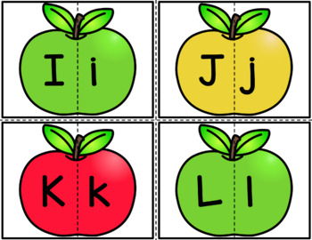 Alphabet Apples - Letter Identification