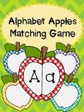 Alphabet Apples Matching Game