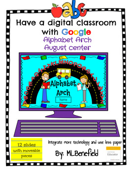 Alphabet Arch - August Center (in Google: Digital and Interactive)