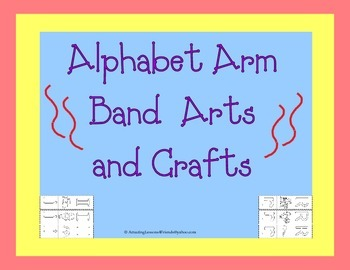 Alphabet Arm Bands Arts and Crafts