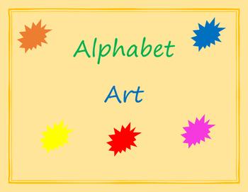 Alphabet Art