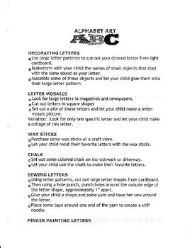 Alphabet Art ABC