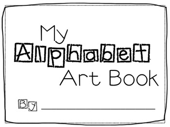 Alphabet Art Book