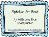Alphabet Art Book
