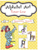 Alphabet Art Lower Case Beginning Sounds