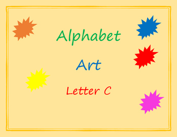 Alphabet Art - Things that start with C