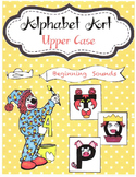 Alphabet Art Upper Case Beginning Sounds