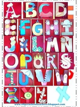 Alphabet Art and Craft